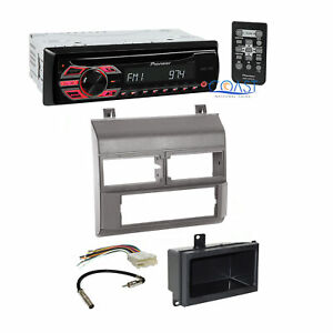 Pioneer Car Radio Stereo W Gray Dash Kit Harness For 1988 94 Chevy Gmc Trucks