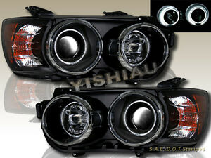 12 14 Chevy Sonic Dual Ccfl Halo Projector Headlights Blk Housing