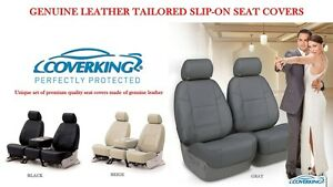 Genuine Leather Slip On Custom Fit Seat Covers Front For Mazda 3