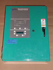 New Cummins Automatic Transfer Switch 70 Amp 3 Phase 480 600v Ats