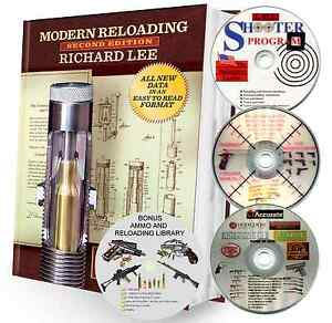 LEE 2ND EDITION RELOADING MANUAL W4 DISK SOFTWARE PACKAGE. MAKES A GREAT GIFT