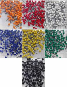 1 16 Inch Map Tacks Complete Set Of All 7 Colors By Moore Push Pin