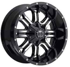 Tis 535mb 8900512 Single 18x9 Gloss Black W Machined Face 535mb 12 Offset Wheel