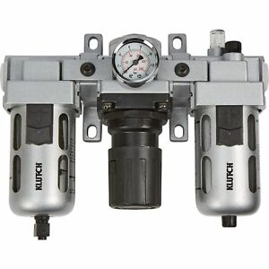 Klutch Air Filter regulator lubricator Combo 1 2in 106 Cfm