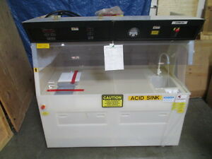 Modutek 6 Wps Wet Processing Bench Station C14506 9500 C14506 8000 Pvdf