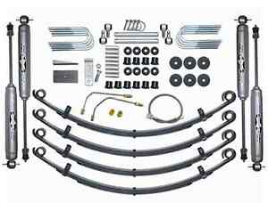 Rubicon Express Re5505 2 5 Suspension Lift Kit W Shocks For 87 95 Jeep Wrangler
