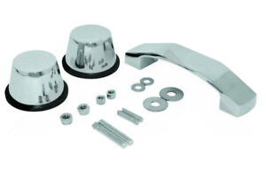 Windshield Tie Down Kit Stainless For Jeep Wrangler Jk 07 18 Roughtrail Rt34097