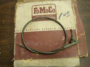 Nos Oem Ford 1955 Fairlane Windshield Wiper Control Cable