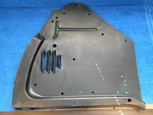 1958 Ford Truck Lh Radiator Grille Air Deflector Nos Ford 916
