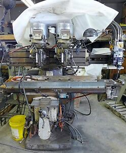 Bridgeport Series Ii 2 Head 2 Tray Vertical Mill