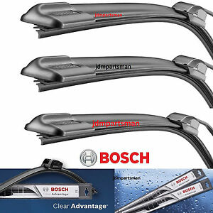 Bosch Clear Advantage Front Left And Right Rear Wiper Blades 24 22 16