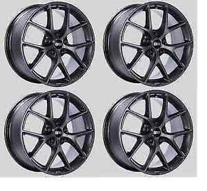 Bbs Sr029sg Set Of 4 Sr Satin Grey 19x8 5 45mm Offset 5x114 3 Wheels