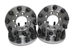 Steel 22 5 Semi Wheel 8 To 10 Lug Dually Adapters Gmc Dodge Ford And Chevy 1 Ton