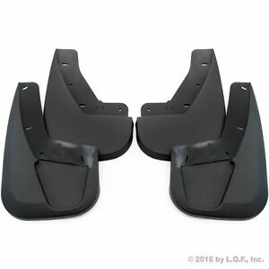 07 14 Escalade 09 14 Tahoe Ltz Mud Flaps Guards Splash No Flares Front Rear 4pc