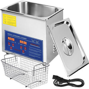 New 3l Liter Industry Ultrasonic Cleaners Cleaning Equipment 220w W timer