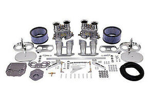 Empi Hpmx Weber Idf Type Dual 40mm Carburetor Kit For Vw Type 2 Bus Porsche 914