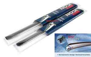 Bosch Icon Beam Oe fitment Wiper Blades Front set Of 2 24 17
