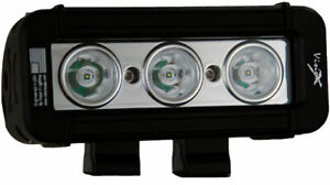Vision X Xil Lp310 5 Xmitter Black Light Bar Three 9 Watt Led S 10 Beam