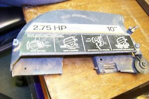 Craftsman 815633 10 Radial Arm Saw Blade Gaurd 2 75hp