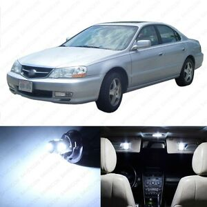 15 X White Led Interior Lights Package For 1999 2003 Acura Tl Pry Tool