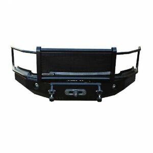 Iron Cross Hd Grille Guard Front Bumper For 1997 2002 Dodge Ram 1500 2500 3500