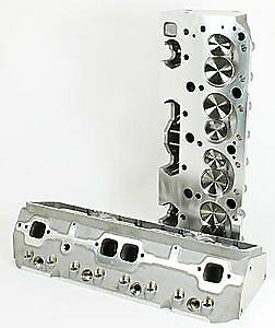 Promaxx Performance 2117 225cc Aluminum Cylinder Heads Small Block Chevy