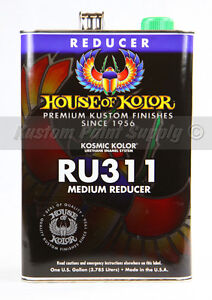 House Of Kolor Ru311 Medium Dry Reducer Kosmic Kolor 1 Gallon