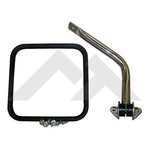 Mirror Arm Kit Right Chrome Jeep Cj 1955 1986 Rough Trail Rt30008