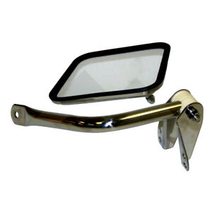 Mirror Arm Right Stainless Fits Jeep Cj 1955 1986 Rough Trail Rt30009