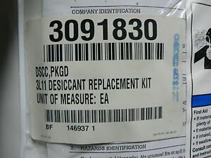 Parts Kit air Drier Air Dryer Model Gl Desiccant 3l11 Replacement Kit 3091830