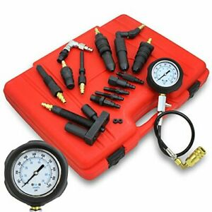 Diesel Engine Compression Tester Gauge Kit For Auto Isuzu Chevy Gm Truck Tractor