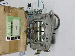 Nos Carter Tq Carburetor 9054s 1975 Chrysler Dodge Plymouth 400 Manual Trans