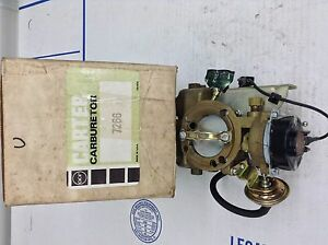 Nos Carter Yfa Carburetor 7266s 1978 Ford Mercury 200 Engine Manual Trans