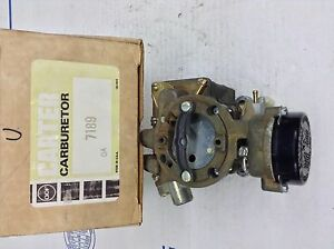 Nos Carter Yf Carburetor 7189s 1977 American Motors Jeep 232 258 Engine
