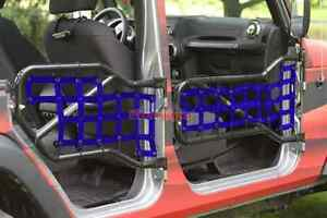 Steinjager Netting Kit For Tube Doors For Jeep Wrangler Jk 2007 2018 4 Door
