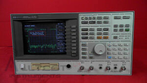 Agilent 89410a 1c2 Vector Signal Analyzer With Option 1c2 Dc To 10 Mhz