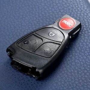 Smart Key Car Remote Entry Fob Case Shell Cover Replacement For Mercedes Benz