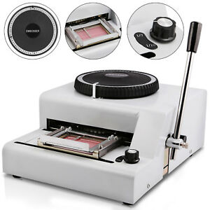 72 Character Embossing Embosser Machine Heavy Duty Protable 1 7 Inch First Class
