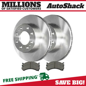 Front Rotors And Metallic Pads For 2001 2009 2010 Gmc Sierra Silverado 2500 Hd