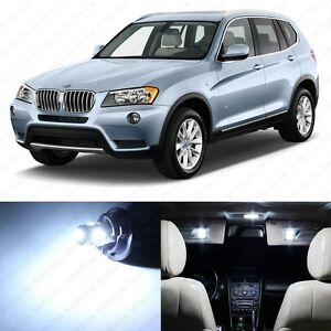 14 X Error Free White Led Interior Light Package For 2011 2014 Bmw X3 Series F25