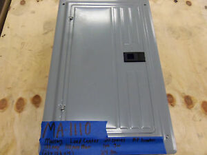 New Murray 100 Amp Panel Main 240v 120v 3r Loadcenter 1 Phase Single