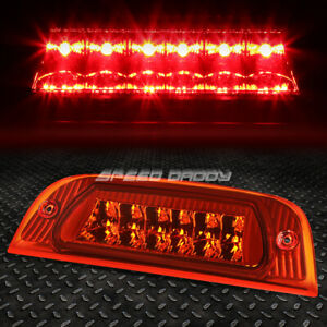For 02 07 Jeep Liberty Led Third 3rd Tail Brake Light Rear Stop Parking Lamp Red