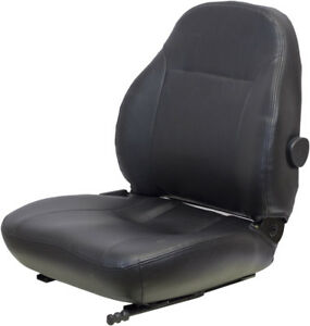 Seq90 0076 Mini Excavator Seat Fits Ford New Holland Tractor 4835 5635 6635 664