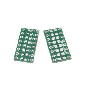 10pcs Smd smt Components 0805 0603 0402 To Dip Adapter Pcb Board Converter