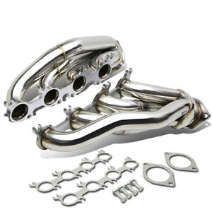 Fit 11 14 Mustang Gt Boss 302 V8 Stainless Steel Racing Header Exhaust Manifold
