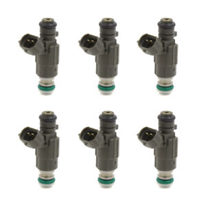6pcs Fbjc100 Flow Matched Fuel Injectors For Nissan 350z Maxima G35 3 0l 3 5l