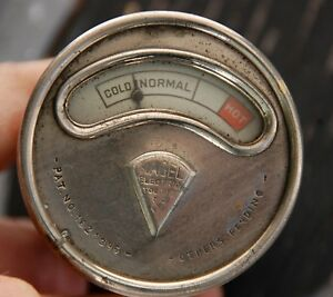 Vintage Antique Nagel Bullet Back Temp Heat Gauge Rat Rod Model A T Ford Hudson