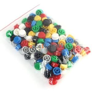140pcs Round Tactile Button Cap Kits 9 58 5 1mm For 12 12 7 3mm Tact Switch