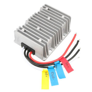 Big size Waterproof Dc 12v Booster To Dc 28v 15a Voltage Reducer Converter 420w