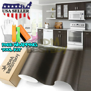 oak Wood Textured Grain Decal Vinyl Wrap Sticker For Furniture Kitchen 1399